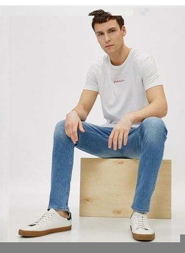 Koton Micheal Skinny Fit Jean Pantolon Yeşil